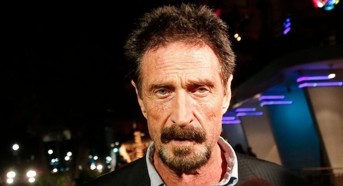 John McAfee admits Bitcoin is a scam