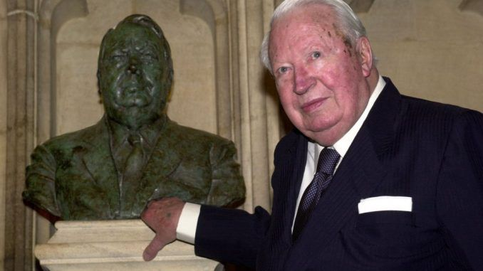 Police officially investigate claims former British Prime Minister Ted Heath ran an elite pedophile ring
