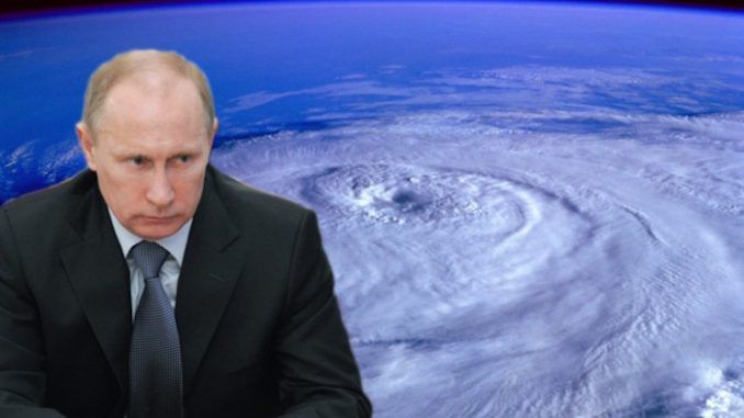 Putin says Russia has evidence that US hurricanes are man-made