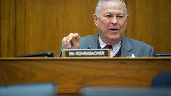 Rep. Rohrabacher calls for investigation in Clinton Foundation ties with Russia