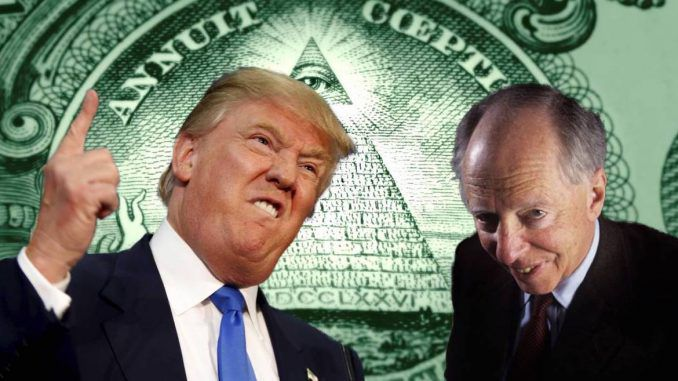 Lord Rothschild says Donald Trump is threatening to destroy the New World Order