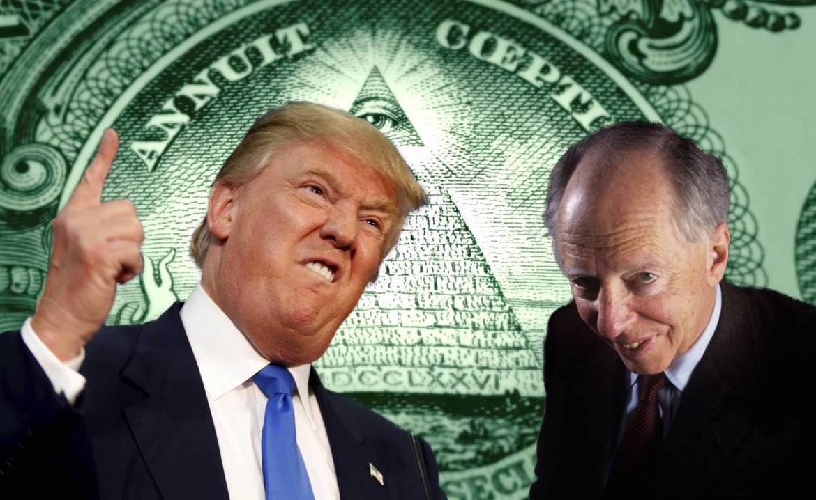 Image result for Rothschild: Donald Trump is Threatening to Destroy the New World Order