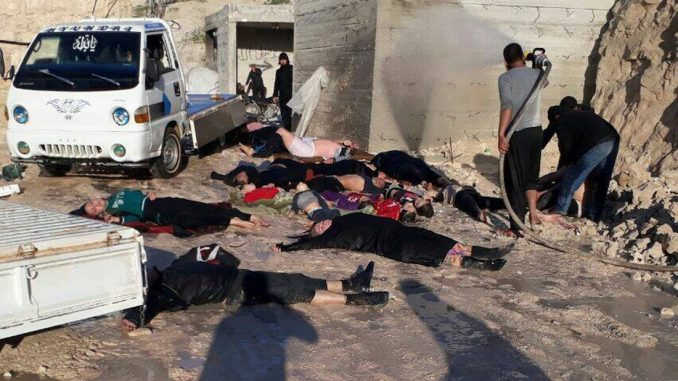 United Nations report says sarin gas attack in Syria was staged