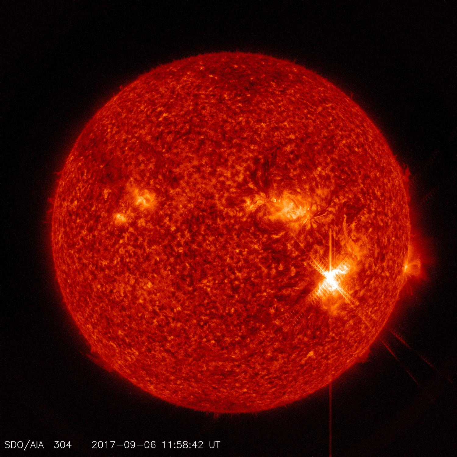 The sun has been emitting record-levels of solar radiation recently