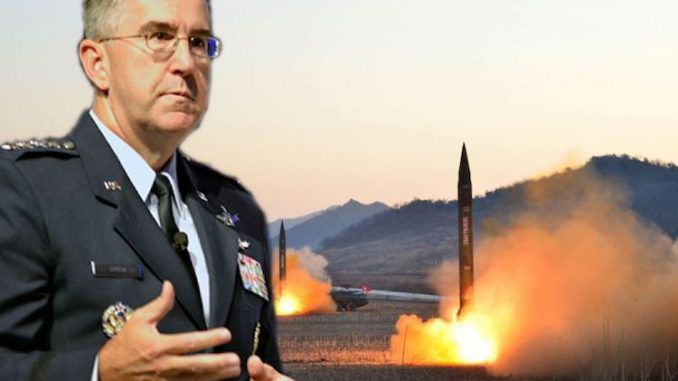 STRATCOM commander says US ready to launch nuclear attack and destroy North Korea