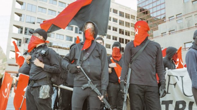 Antifa video reveals plans to entrap Conservatives in kill zones
