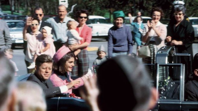 The British press and intelligence services were warned about the assassination of JFK 25 minutes before the president was shot.