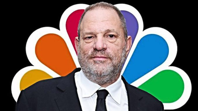 Failing NBC on the ropes after being caught covering up for rapist Harvey Weinstein