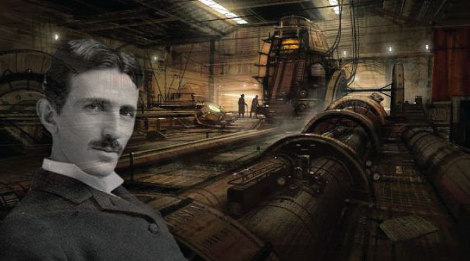 Nicola Tesla describes his time travelling experience