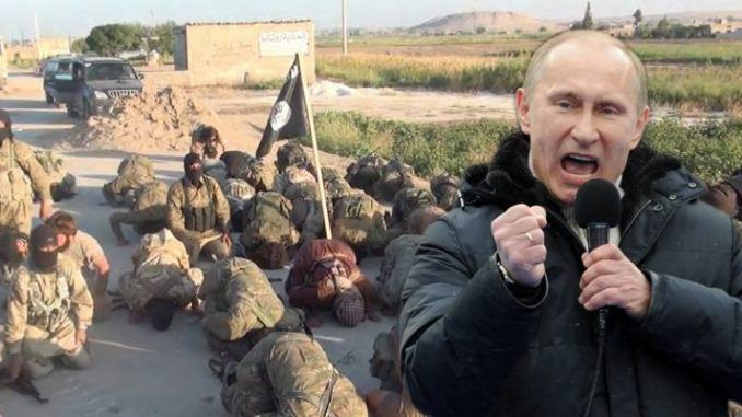 Russian President Vladimir Putin has liberated Syria from the invading ISIS, fulfilling a promise he made to the world two years ago.
