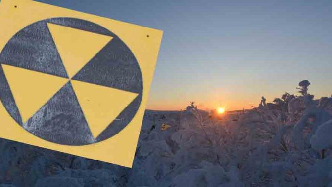 Radioactive particles detected over Europe