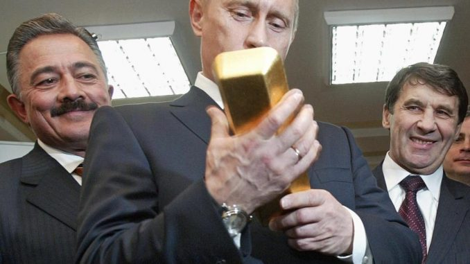 Russia buys up world's gold bullion supply as fears of WW3 grow
