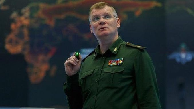 Russian military accuses US of supporting ISIS
