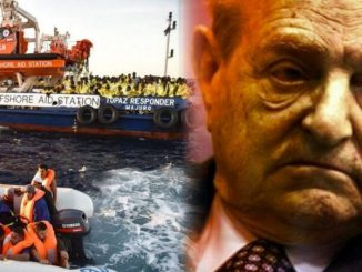 Italy broadcasts footage of Soros funded group working with human traffickers