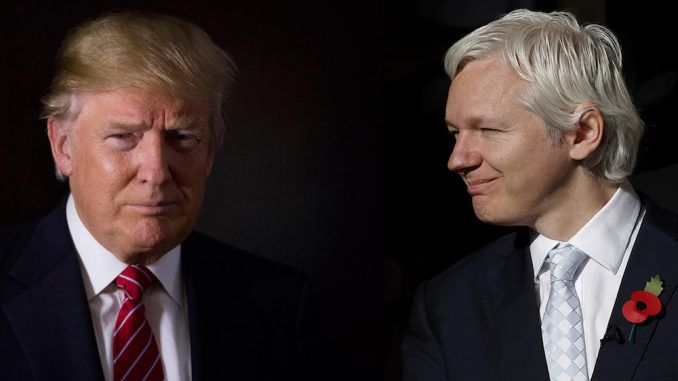 Donald Trump declares WikiLeaks operation legal