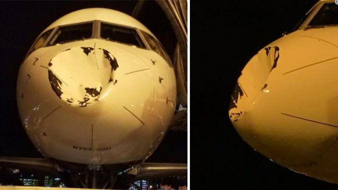 Plane carrying NBA stars attacked by UFO 30,000 feet in the air