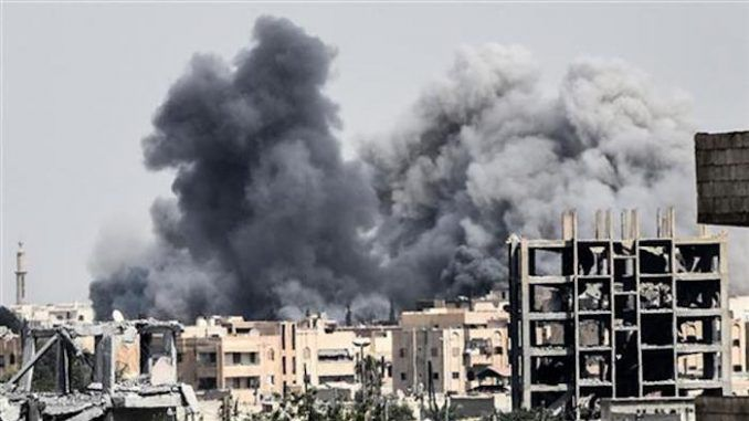 US military airstrike kills 45 civilians in Syria