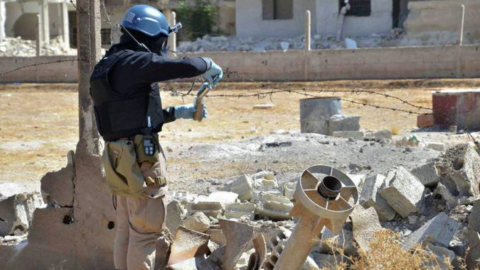 US forces used chemical weapons in Syria, State Department confirms