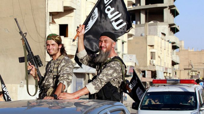 Russia says US and UK still supports ISIS