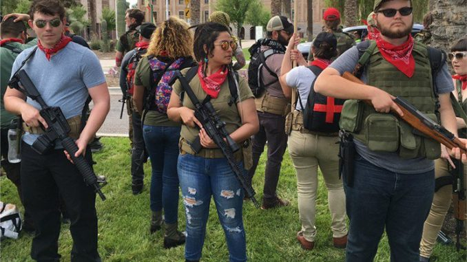 Secret footage reveals Antifa plot to kill innocent Americans using deadly weapons