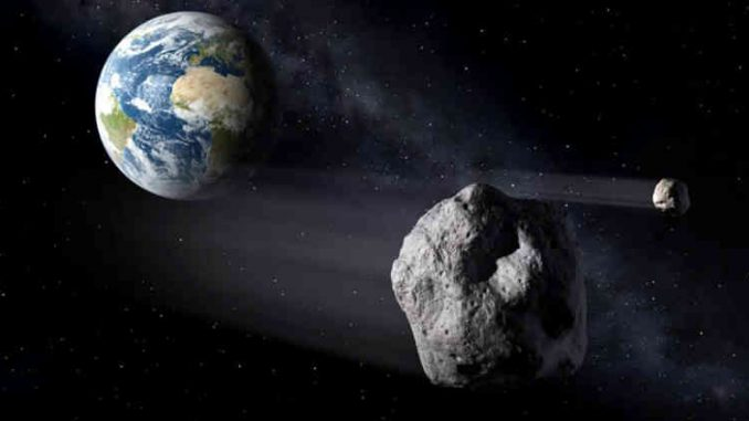 """NASA has confirmed it is closely monitoring the approach of a huge asteroid, as a top scientist warns it is """"coming in damn close"""" to Earth."""