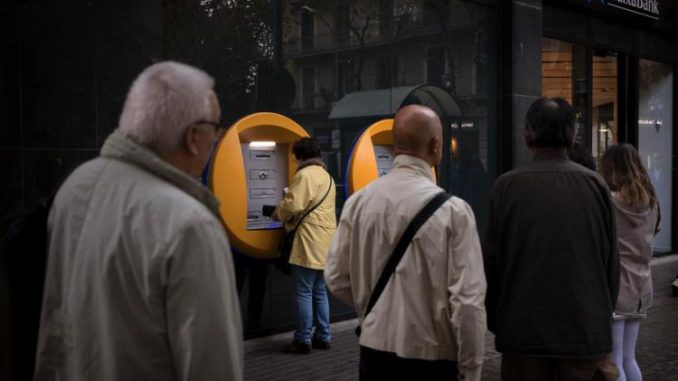 Catalonia bank run imminent as citizens withdraw cash en masse