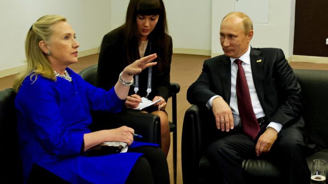 FBI confirm Hillary Clinton colluded with Russia as far back as 2009