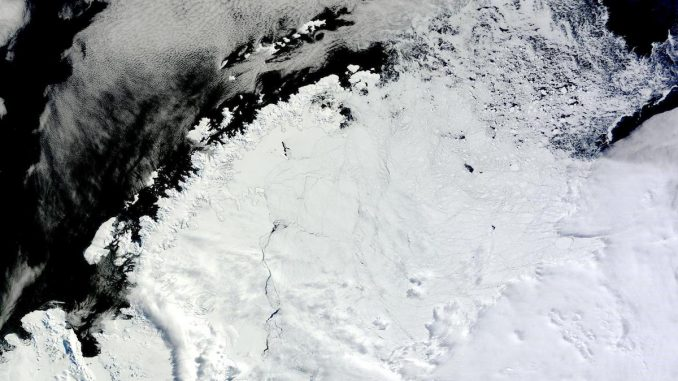 Scientists baffled as giant hole opens up in Antarctica