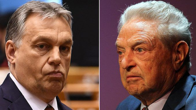 Hungarian PM vows to lock up George Soros