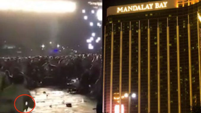 Mandalay Bay second shooter seen in footage