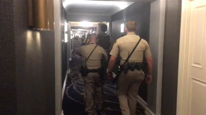 Las Vegas shooter Stephen Paddock had access to service elevator
