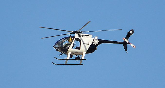 Las Vegas police helicopter picked up armed terrorists on night of massacre