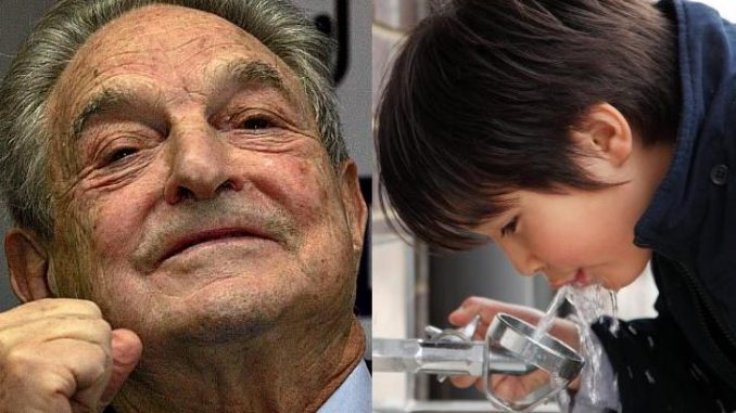 George Soros has outlined plans to add fluoride to the drinking water of all school aged children in the United States.