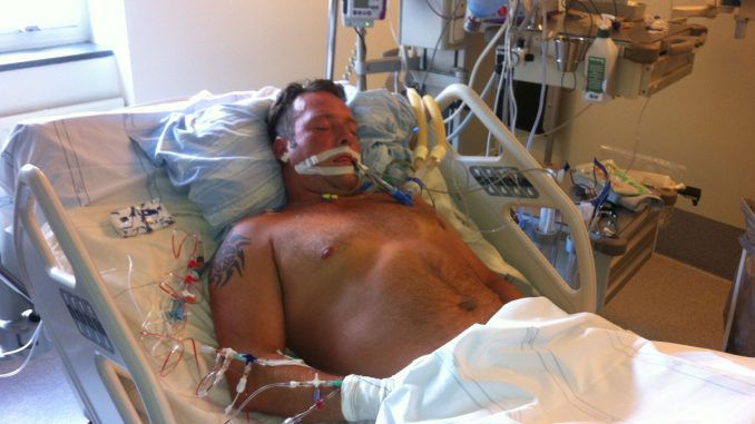 A stroke patient lying paralysed in hospital listened in horror as doctors told his family that he would not survive and later, among themselves, quietly discussed selling his organs for a quick buck.