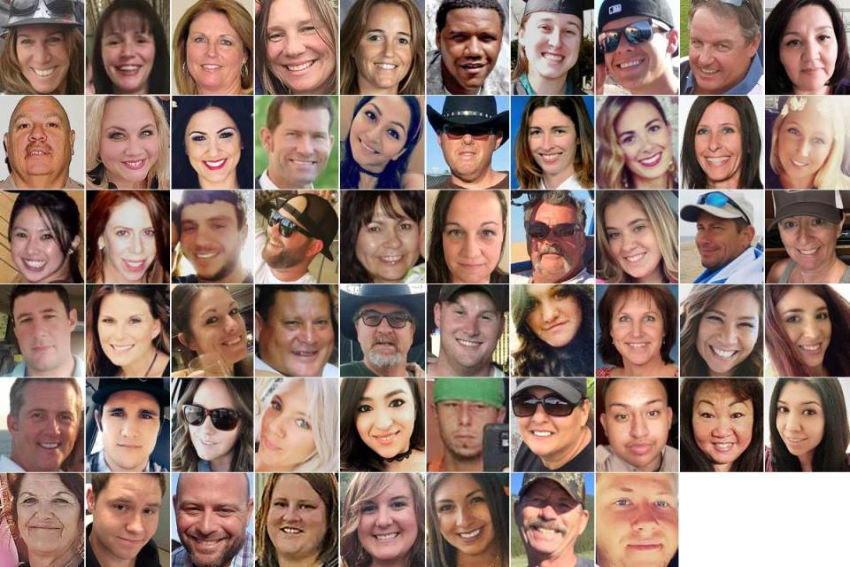 The victims of the Las Vegas shooting – R.I.P.