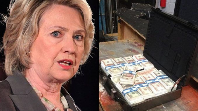 FBI obtain video evidence of briefcases full of Russian money in Clinton Uranium One bribery case