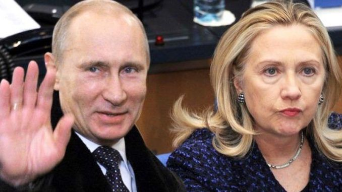 Hillary Clinton received 5 billion rubles from Russian interests with direct ties to the Kremlin in return for providing private information about members of Congress and the Senate.