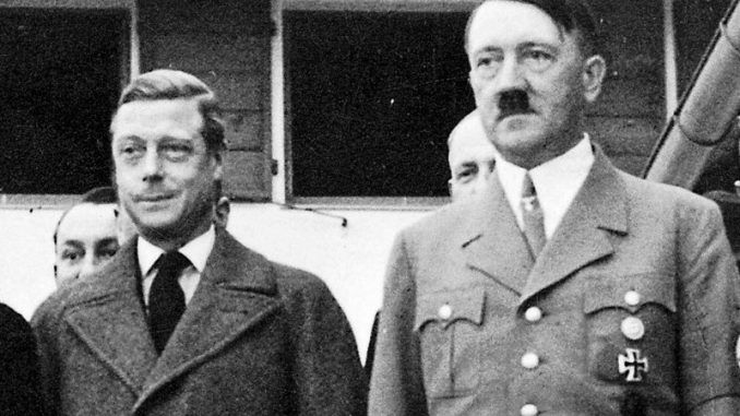 CIA claim that Adolf Hitler was a British agent, tasked with creating the Israel for the Rothschild family