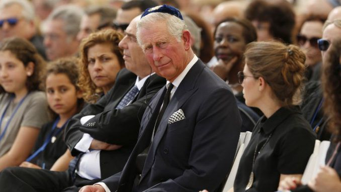Prince Charles says Israel is to blame for Middle East problems