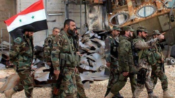 Syrian army discover US, Israeli weapons belonging to ISIS