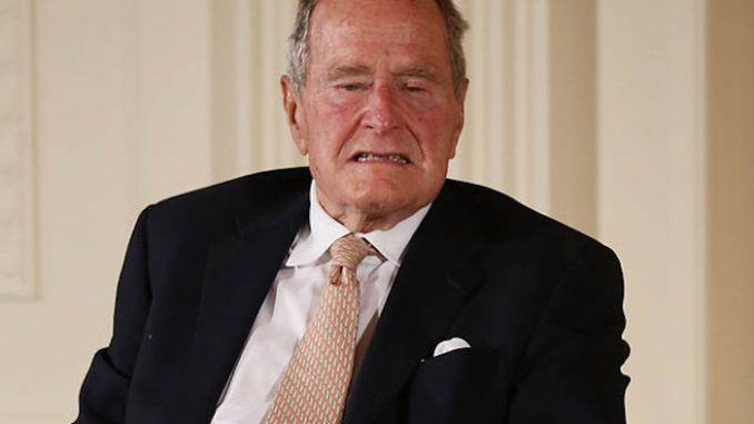 George H. W. Bush become oldest satanic U.S. president
