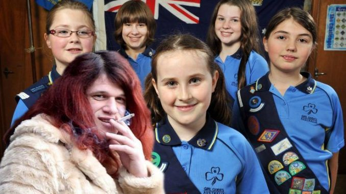 UK Girl Scouts to allow adult men to shower with young girls