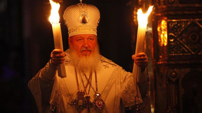 Head of Russian Orthodox Church warns that the end times are upon us