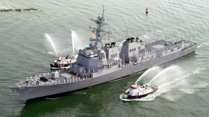 Iran deploys fleet of warships to US border