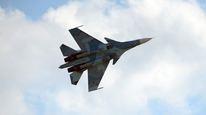 Moscow scrambles fighter jet to tackle US spy plane entering Russian airspace