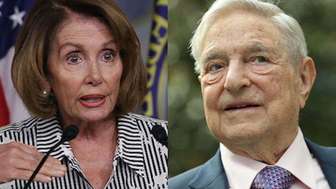 Soros, Pelosi host resist Trump conference in California