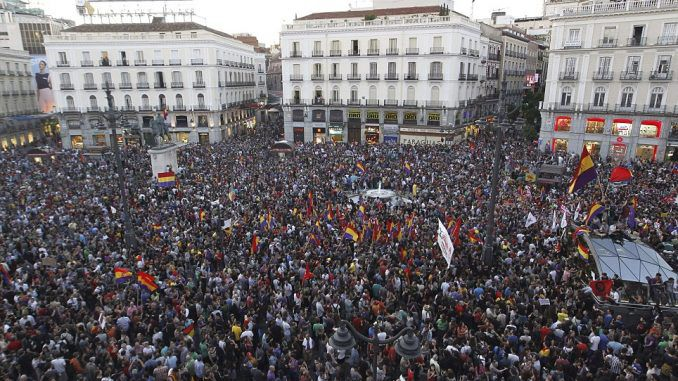 Millions of Catalonians rise up against Spanish government, media blackout