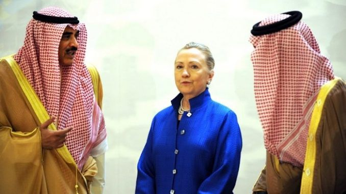 Arrested Saudi prince had given millions of dollars to Clinton machine