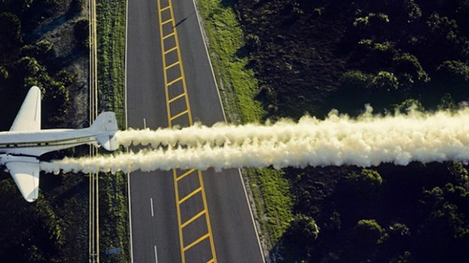 US government caught spraying chemicals to change the DNA of humans and animals