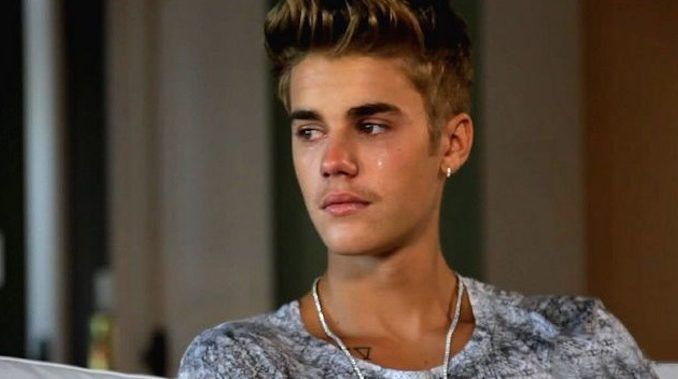 Justin Bieber told hundreds of people at a Bible study class in Los Angeles that Hollywood elites killed his unborn child and destroyed the relationship he had with the child's mother